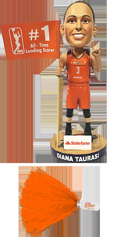 Diana Taurasi Bobblehead | Orange Pom-Pom
